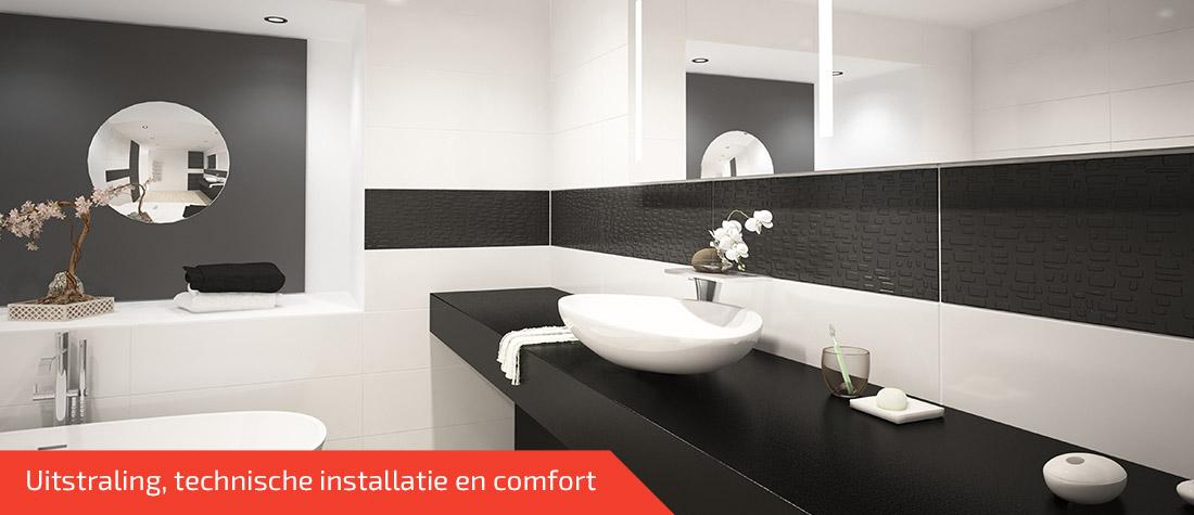 Badkamer verbouwen door de installateur uit Rijen